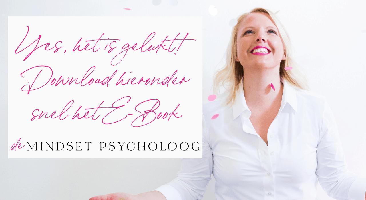 E-Book De 5 gouden mindset tips voor meer geluk & succes 1